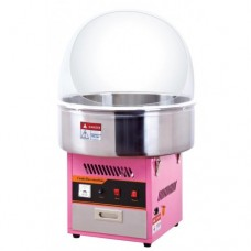 SUMTASA Candyfloss machine with metal bowl + bowl cover ET-MF01