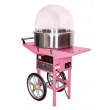 SUMTASA Candyfloss machine with metal bowl + bowl cover