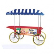 Candy Floss machine & Popcorn Machine Cart